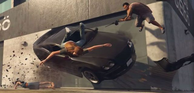 Grand Theft Auto V GAME MOD Ped Riot/Chaos Mode v 0 6 1 - download
