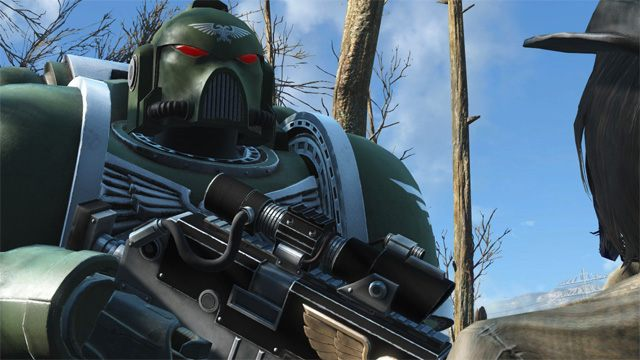 Fallout 4 GAME MOD The Space Marine v 1 3 2 - download