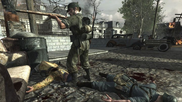 Call of Duty: World at War GAME MOD Ring of Steel: Abandon