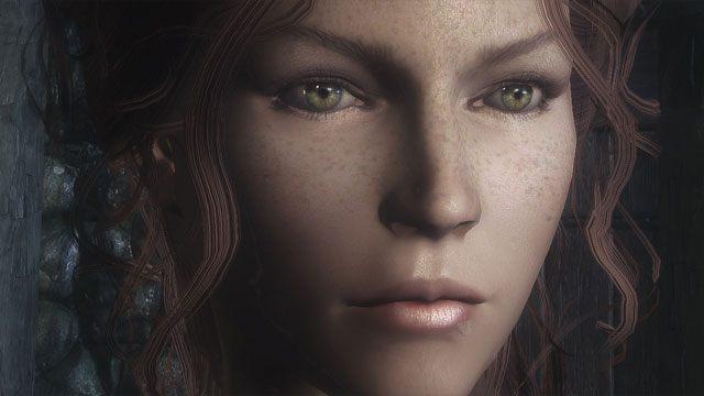The Elder Scrolls V: Skyrim GAME MOD The Eyes Of Beauty v