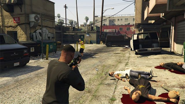 Grand Theft Auto V GAME MOD The Red House (new heists and