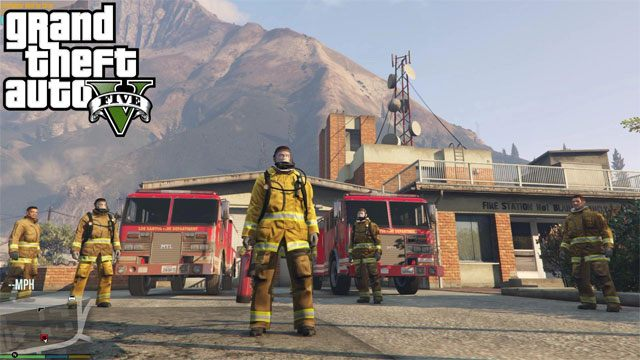 Grand Theft Auto V Game Mod Firefighter Mod V 2 0 Free Download