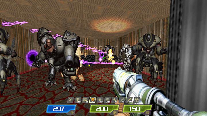 Doom II: Hell on Earth GAME MOD Quake 4 Lightning Fast Mod
