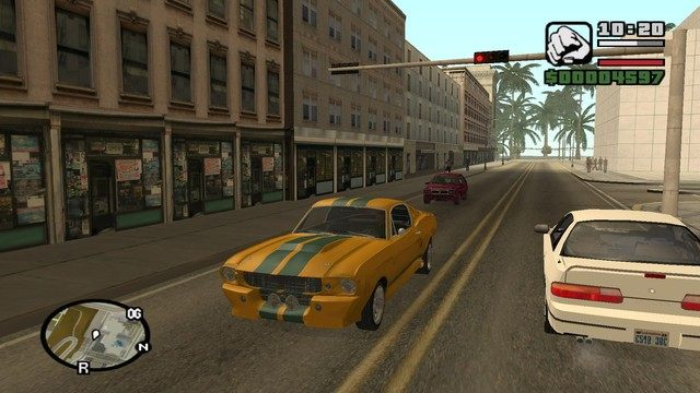 Grand Theft Auto: San Andreas mod Real Cars 2 v.1.1