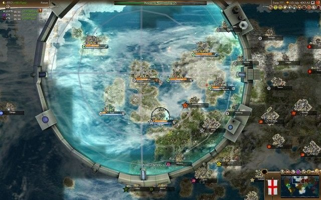Sid meier's civilization iv: beyond the sword game mod.