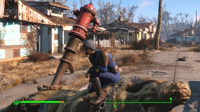 Fallout 4 GAME MOD Dead Body Collision v 1 0 - download