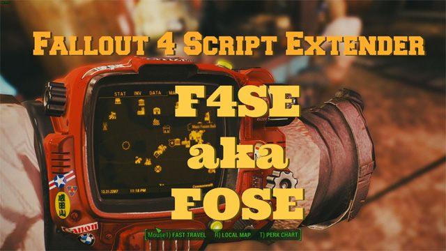 Fallout 4 GAME MOD Fallout 4 Script Extender (F4SE) v 0 6 17