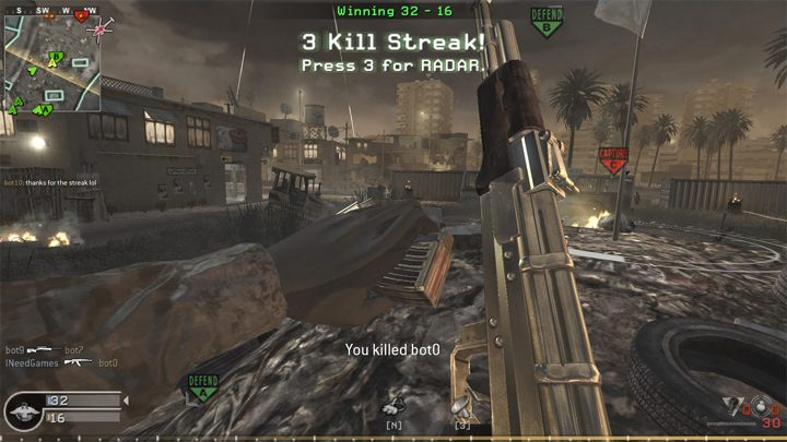 Call of Duty 4: Modern Warfare GAME MOD COD4 Bot Warfare v