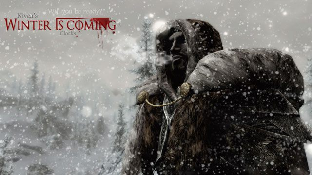 The Elder Scrolls V: Skyrim mod Winter Is Coming - Cloaks v.2.3