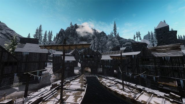 The Elder Scrolls V: Skyrim mod Holds The City Overhaul v.0.0.1
