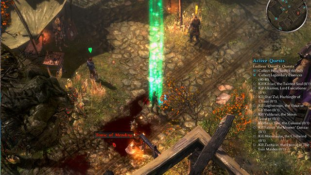 Grim Dawn GAME MOD Omega Mod v 1 01 - download