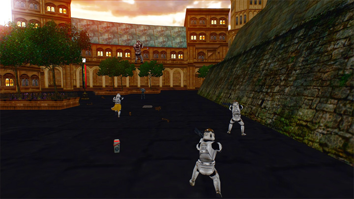 Star Wars: Battlefront II (2005) mod The Lost City