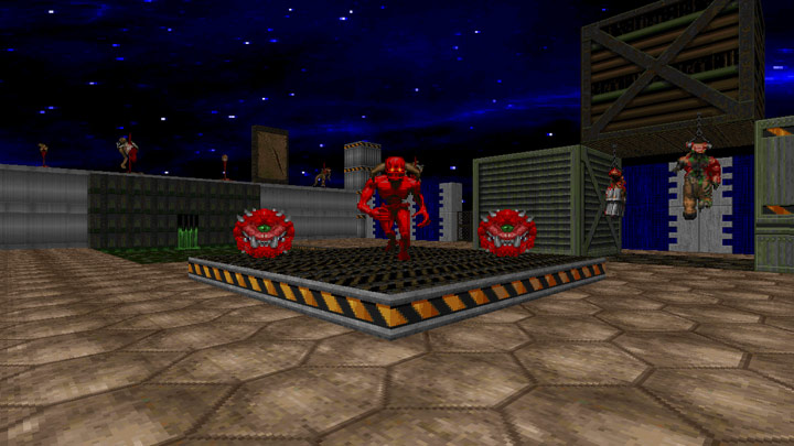 Doom II: Hell on Earth GAME MOD Fall of Society for ZDoom v 18112018