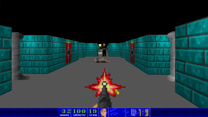 Doom II: Hell on Earth GAME MOD Wolfendoom: Coming of the Storm v