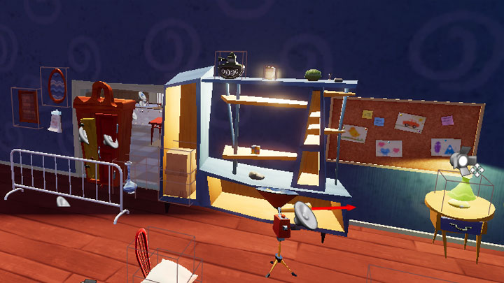 Hello Neighbor mod Empty Floating House