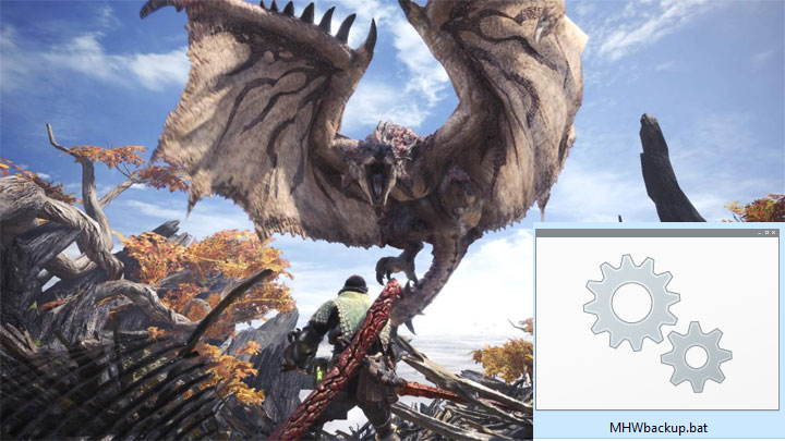 Monster Hunter: World GAME MOD MHW-BackupUtility v 1 2