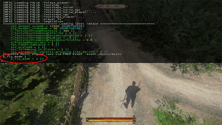 Kingdom Come: Deliverance GAME MOD Restricted console cheats enabler