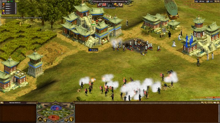 Rise of Nations: Thrones and Patriots GAME MOD Rise of Steam