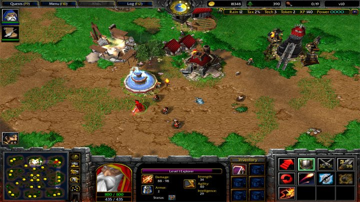 download dota 1 or warcraft 3 frozen throne