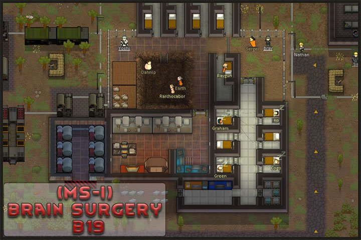 RimWorld GAME MOD [MS-I] Brain surgery v 1 0 0 2 - download