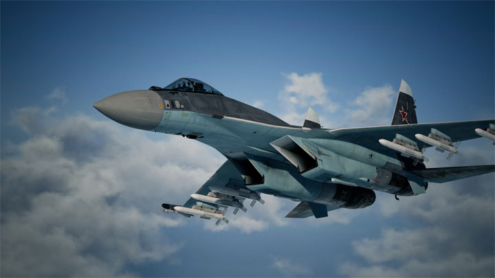 Ace Combat 7: Skies Unknown GAME MOD RuAF Black Su-35S v