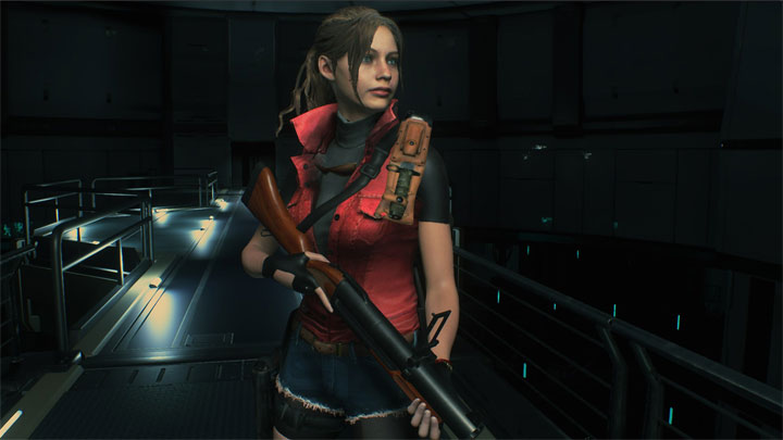 Resident Evil 2 mod Darkside Chronicles Claire v.1.0
