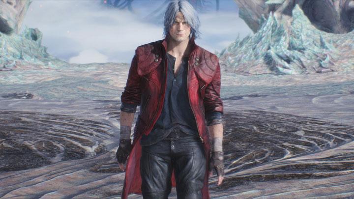 Devil May Cry 5 GAME MOD Crimson Red Coat For Dante v 1 1 - download
