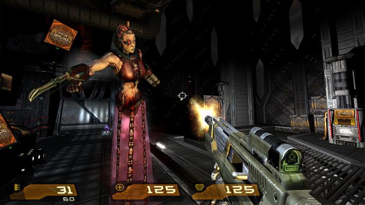 Quake 4 GAME MOD Quake 4 Hi Def v 0 70 - download | gamepressure com