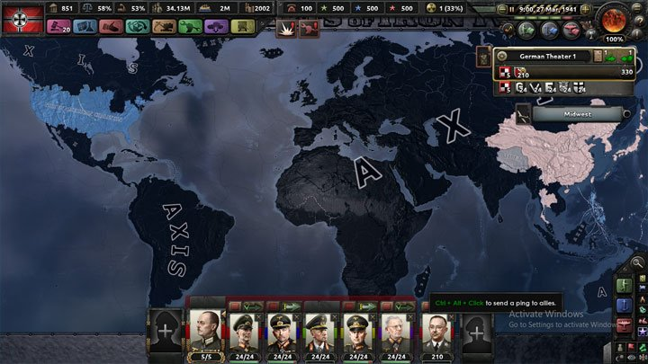 Hearts of Iron IV GAME MOD Better Political Map v.12072018 ...