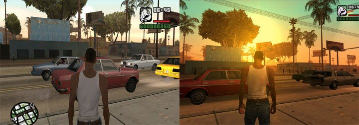 Grand Theft Auto: San Andreas GAME MOD GTA San Andreas - Enhanced