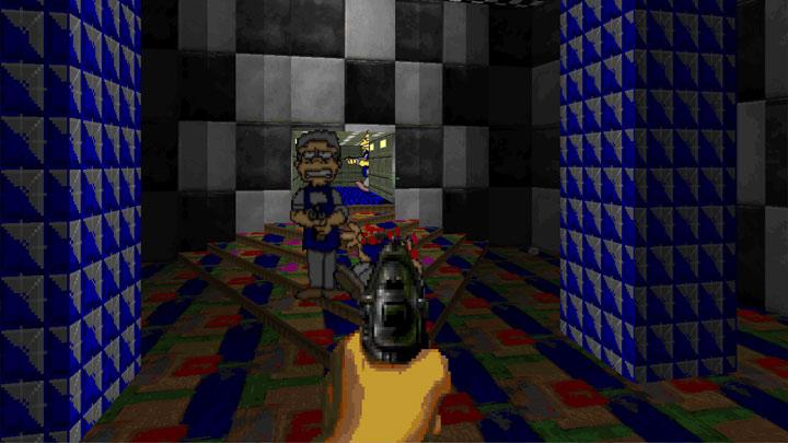 Doom II: Hell on Earth GAME MOD Ultimate Simpsons Doom: Hell