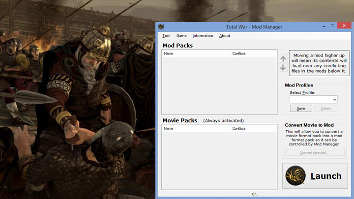 Total War: Attila GAME MOD Mod Manager v 2 0 - download
