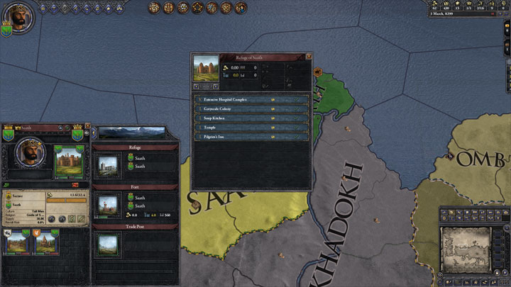 Crusader Kings II GAME MOD Build All, Upgrade All – A Game