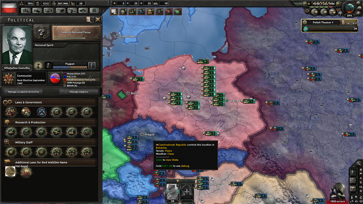 Hearts of Iron IV GAME MOD The Red Wall v 0 3 - download