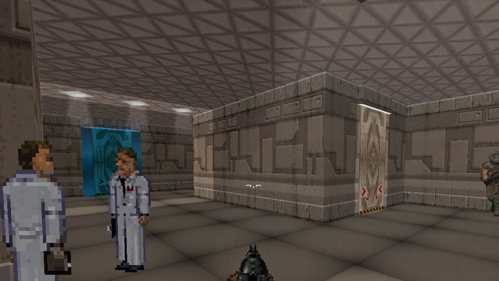 Doom II: Hell on Earth GAME MOD UFO DOOM: Unknown Enemy