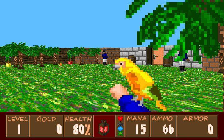 Wolfenstein 3D GAME MOD Golden Parrot v 1 1 - download