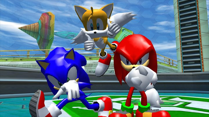 Sonic Heroes GAME MOD Sonic Heroes Missing Audio Clip