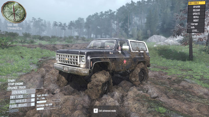 spintires mudrunner mods android