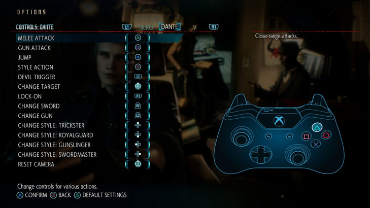 Devil May Cry 5 GAME MOD DS4 Button Layout v 1 0 - download