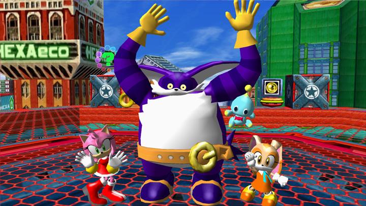 Sonic Heroes GAME MOD Sonic Heroes Transparency Blending