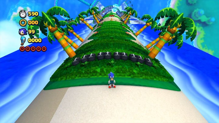 super sonic lost world apk