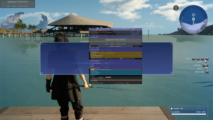 Final Fantasy XV: Windows Edition GAME MOD Special K for