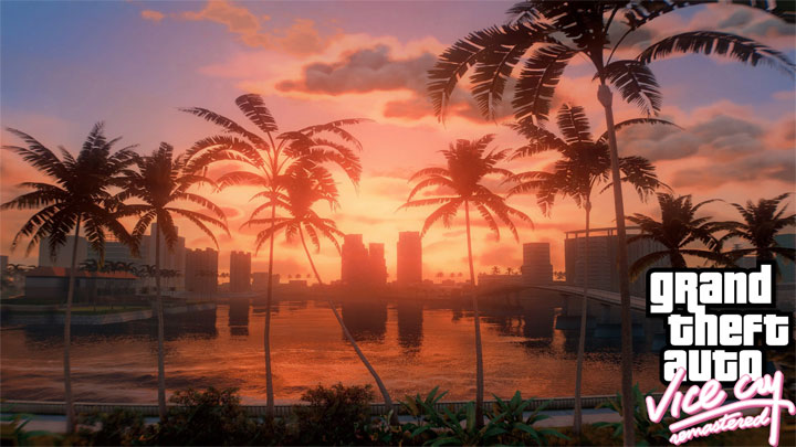 Grand Theft Auto V mod Vice City Remastered v.1.0