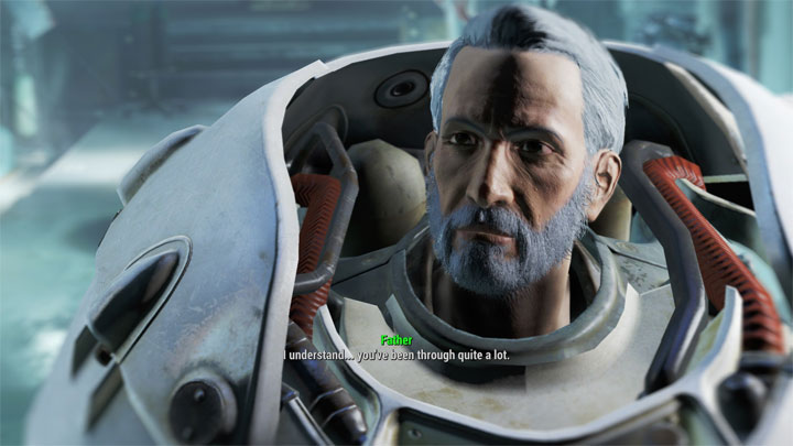 Fallout 4 GAME MOD Father Companion - Alternate Ending