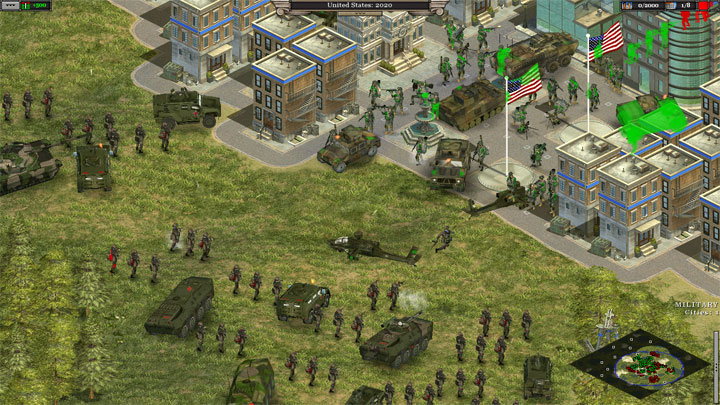 Rise of Nations: Thrones and Patriots mod Modern Times: World In Conlict v.3.01