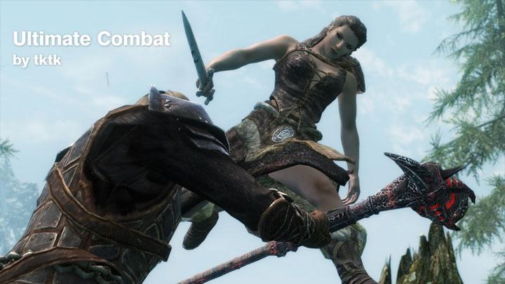 The Elder Scrolls V: Skyrim GAME MOD Ultimate Combat v 3 32