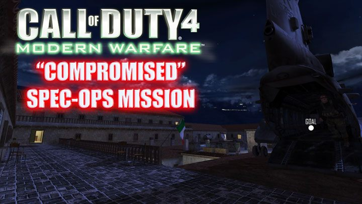 Call of Duty 4: Modern Warfare GAME MOD Compromised Special Ops