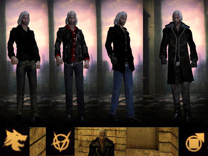 Vampire: The Masquerade - Bloodlines mod Whitehair (Gengrel, Brujah, Tremere) v.18121019