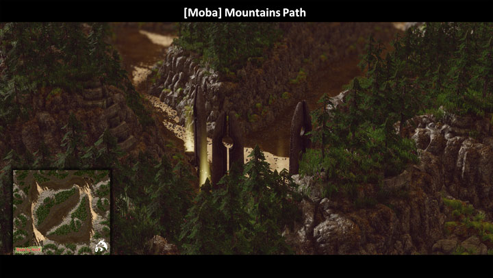 SpellForce 3: Fallen God mod Mountain Path [MOBA]