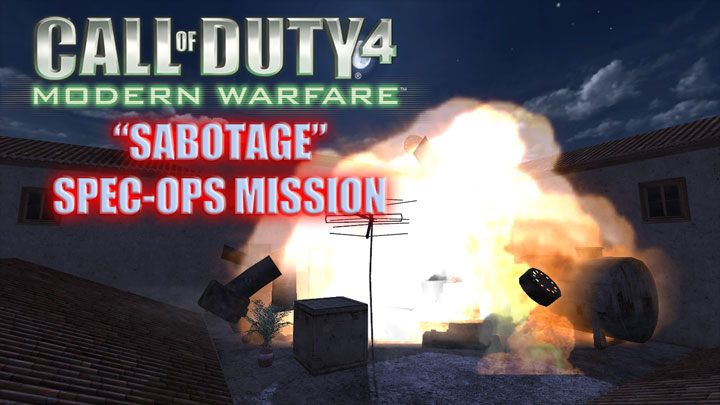 Call of Duty 4: Modern Warfare GAME MOD Sabotage Special Ops Mission